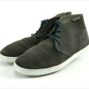 Cole Haan Men's Chukka Boots Size 7.5 Suede Gray